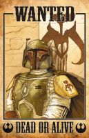 Boba Fett Wanted by RossHughes