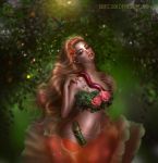 Floriana delicate rose - THIRD DAILY DEVIATION! by BrietOlga
