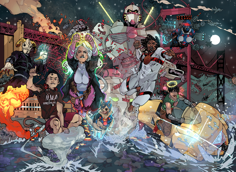 Leaders of the Free World Wraparound Cover by Atlas0