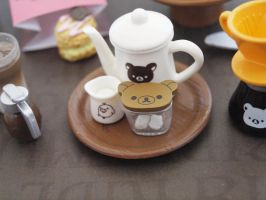 Rilakkuma Chocolate Cafe Re-ment #2 by ImSugarRibbon