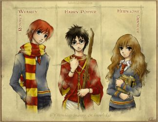 HP The Trio by hakumo