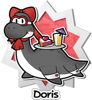 PM:TAB NPC ~ Doris by Zieghost