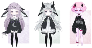 [closed] lace adoptables by ghousu