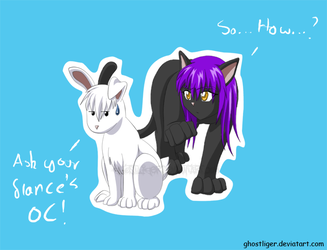 Snow Hare Shadow Contest entry by GhostLiger