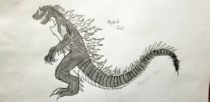 HybridGoji's Final Form [Official Design] by crocodile-wolf-9000