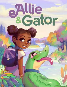 Allie and Gator! by GDBee