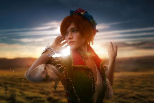 Shani Witcher cosplay by Lyumos