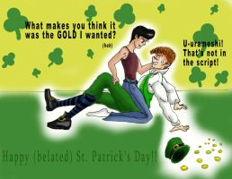 St. Patrick's Day...again by ChibiBee