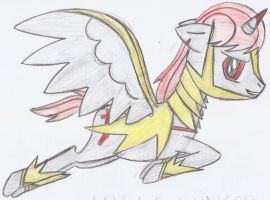 Arend the Unicorn Pegasus by TapinAnts