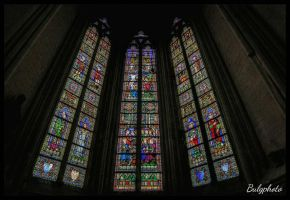 Church window by bulgphoto