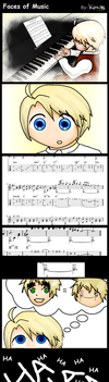 APH: Faces of Music by kiraito