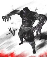 noob saibot FEAR ME by Madpenciler