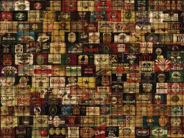 beer label background by rsteagall