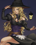 Witch Ophelia by Carcoiatto