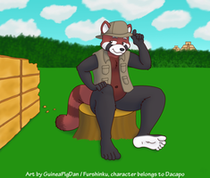 Dacapo the archeologist by GuineaPigDan
