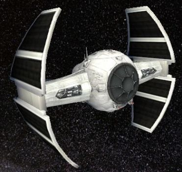 TIE Advanced v1 by StarToursTraveler