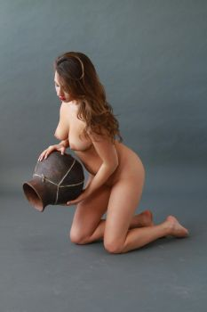 Woman and Vase-Stock-2 by ERIEYE-STOCK