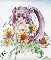 Sunflower-ific day by sketchbook-d00dl3