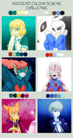 Color Scheme Challenge by Cyber-Meta