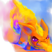 Agni the Flareon by Arenheim