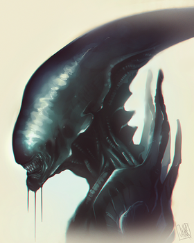 Alien_Xenomorph by JakkeV