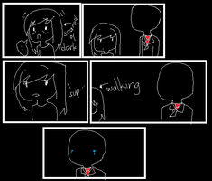 Slenderman w/ Master comic #1 by Ask-Lily-thePrincess