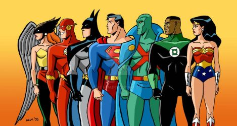 Justice League - The Animated Series by Az-I-Am