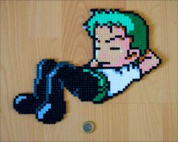 Sleeping Zoro Sprite by Aenea-Jones