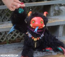 Yrnwood Hognose Imp doll by missmonster
