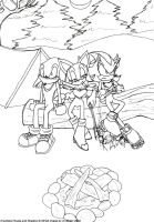 Camp Out by weaselwoman