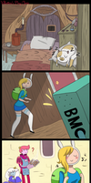 Happy Belated Valentine's Day:Adventure Time Comic by DeeaLov3