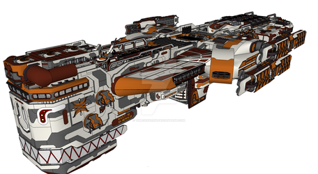 Hast-42 (Heavy-Assault-Supply-Transport) by Timeserver55