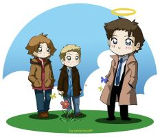 Supernatural+while waiting... by xanseviera