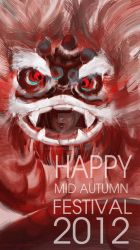 happy mid autumn 2012 by kawako198