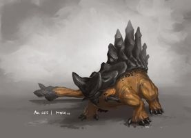 Monster No. 025 by Onehundred-Monsters