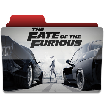 The Fate Of The Furious folder icon by PanosEnglish