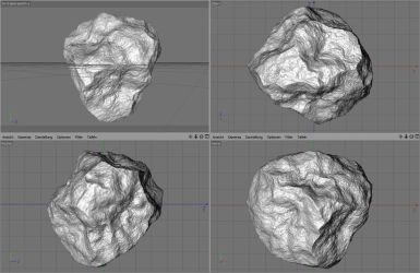 Procedural Rock Generator for C4D V 1.01b by 16fingers