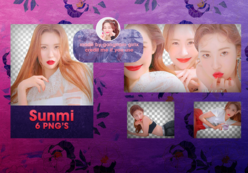 Sunmi for High Cut - png pack by Gangnam Girlx by GangnamGirlx