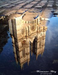 MIRROR - Westminster Abbey by onewordphoto