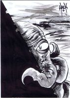 War of the Worlds sketchcard 25 by RobertHack
