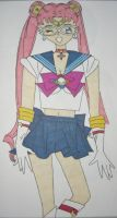 Sailor Moon Original Fuku by DavisJes