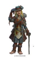 Halfling Gambler by Windmaker