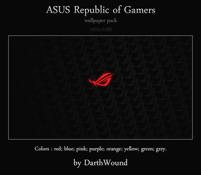 Republic of Gamers (pack) by DarthWound