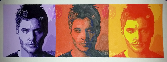 Pop Art Jensen by KriticKilled