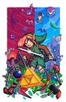 Epic Game Print - Zelda - Link to the Past by JoeHoganArt