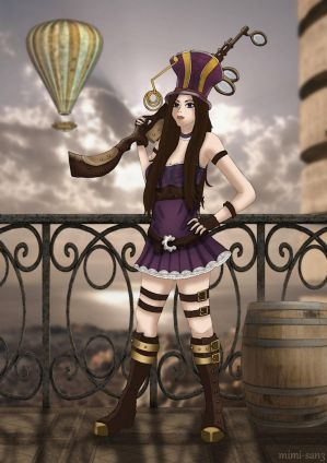 Fan-Art Caitlyn from League of Legends by Mylene-C