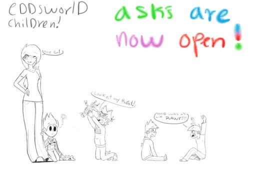 THE ACTUAL ASK'S WILL BE IN COLOR!!! by kittyscittles
