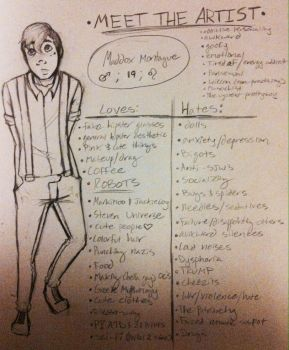 Meet the Artist (aka Jumping on Bandwagon) by Outraged-Science
