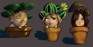 Plant People by SineSquared