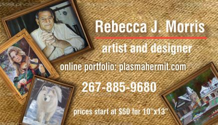 Just designed my new business card! :) by plasmahermit